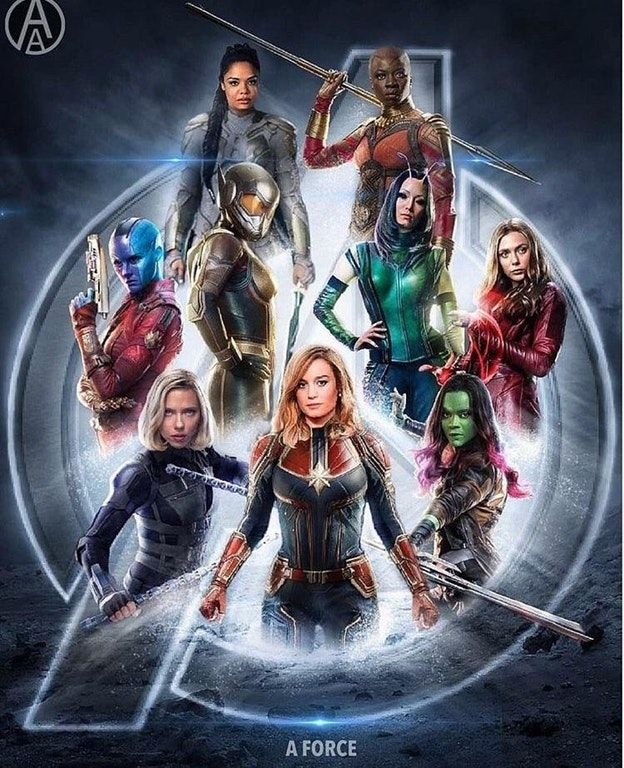 Fan Made A-FORCE Poster Brings Female Avengers Team to ...  Fan Made A-FORC...