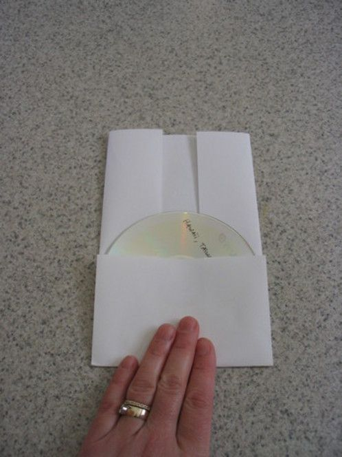 How to Make a Folded-Paper CD Case Cd cases, Diy design and Diy paper