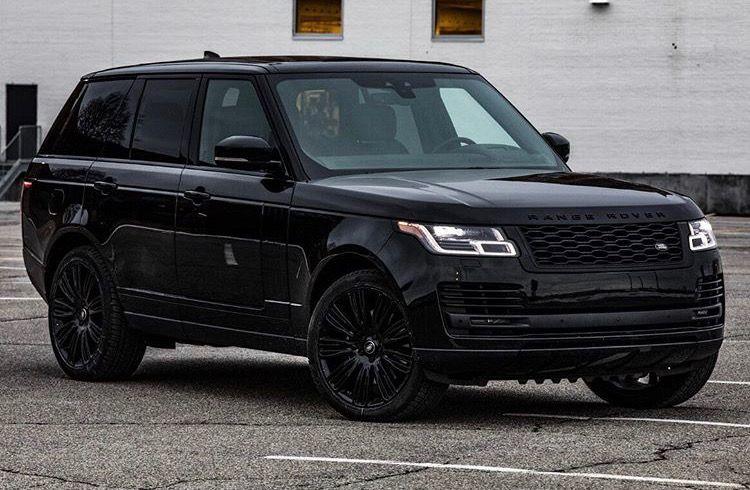 Blacked out Range Rover Vogue Range rover sport black