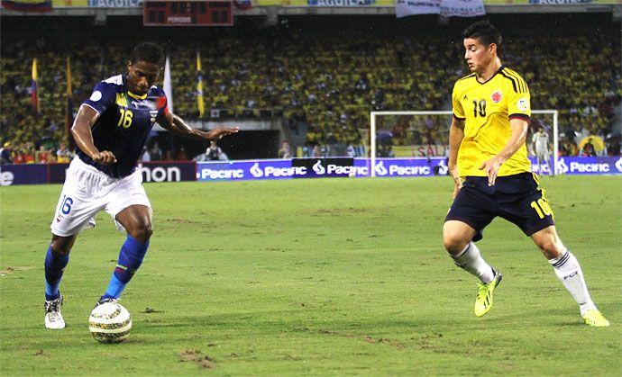 James Rodríguez, el niño de oro de la selección Colombia. El jugador cucuteño fue quien le mostró a la 'tricolor' el camino que la acerca a la clasificación all Mundial de Brasil 2014: http://www.elpais.com.co/elpais/deportes/noticias/james-rodriguez-nino-oro-seleccion-colombia