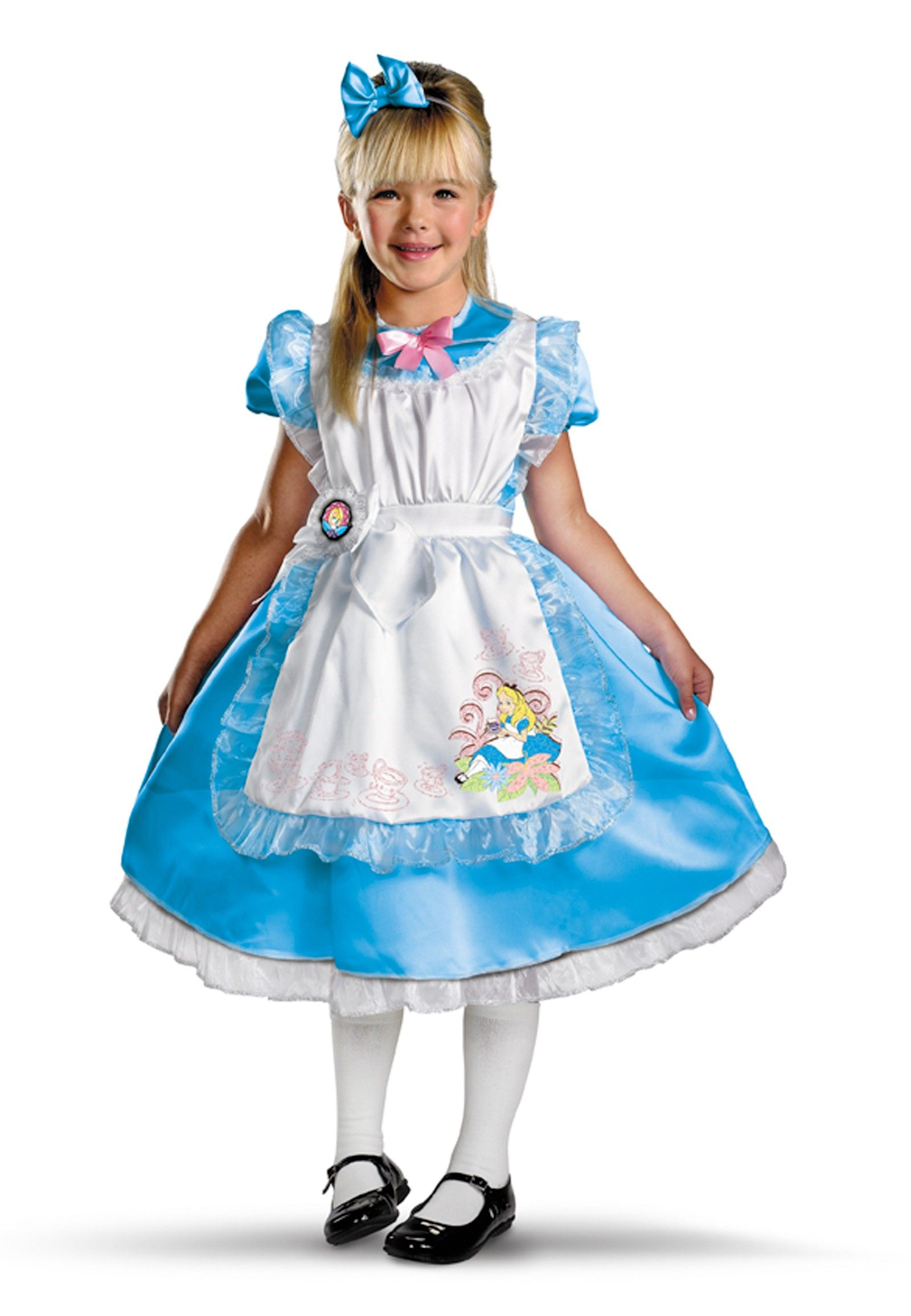 Disney's Alice in Wonderland Alice Deluxe Child Girl's Costume