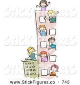 Royalty Free Child Stock Stick Figure Designs - Page 5