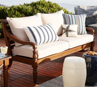 Faraday Outdoor Sofa From Pottery Barn We Need Front Porch