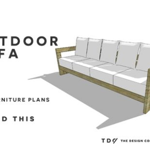 Free Diy Furniture Plans How To Build An Outdoor Reef Sofa With Modifications For Cushions From Target Furniture Plans Outdoor Sofa Outdoor Furniture Plans