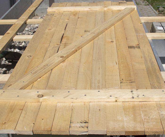 Schuppentür bauen vesab.de Schuppen türen, Holztür