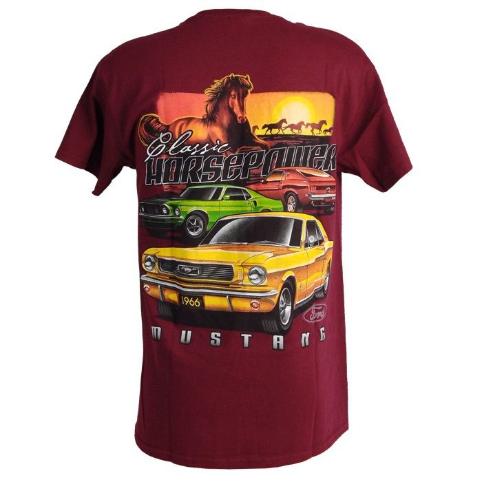 Muscle Car Apparel and Gifts - Ford Mustang T Shirt ...