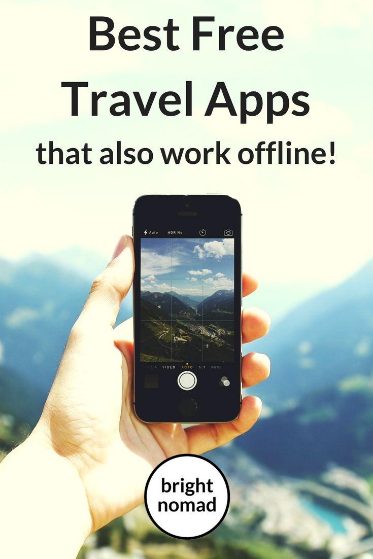 Best free travel apps that work offline met afbeeldingen