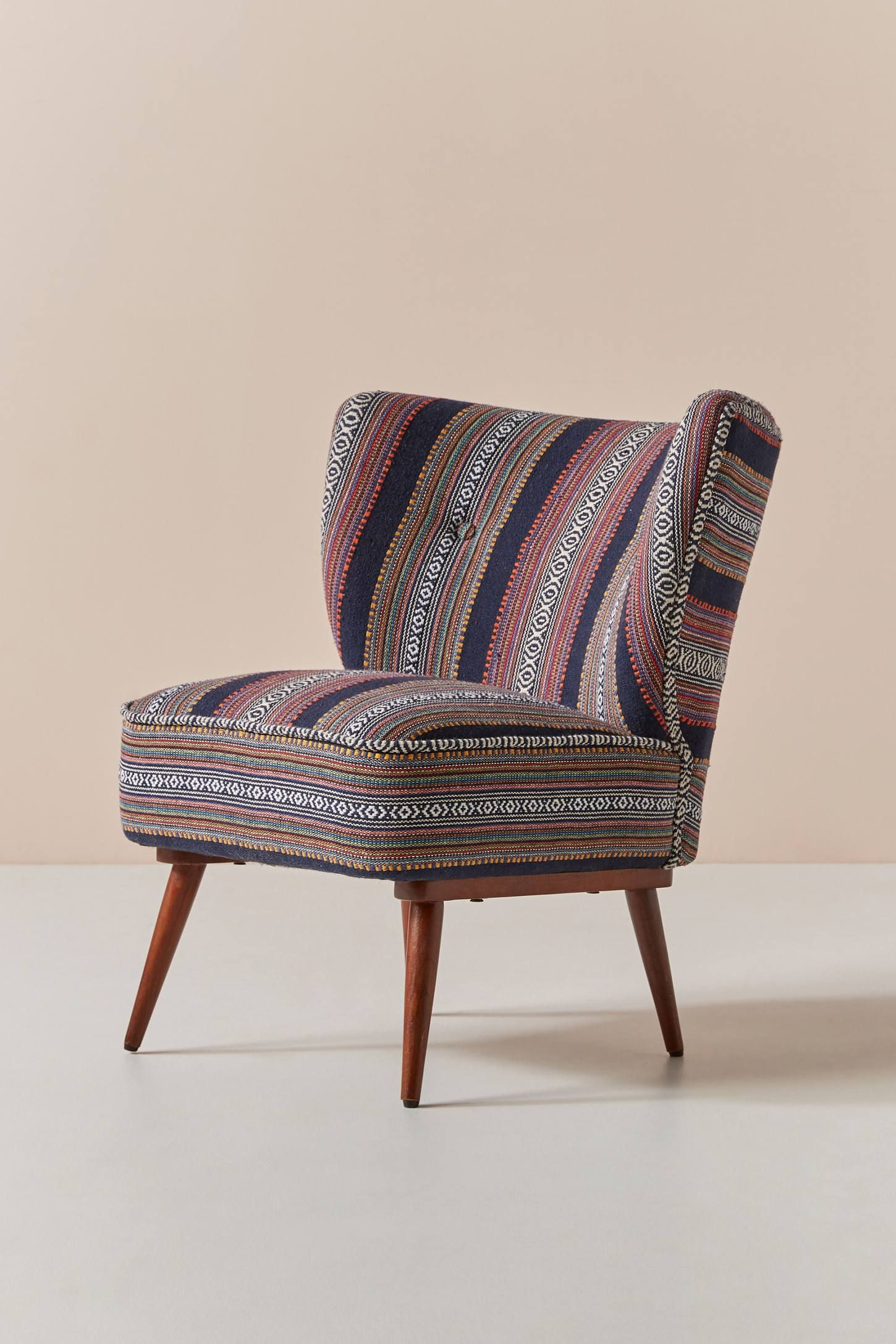 Best Cheyenne Striped Woven Petite Accent Chair By 400 x 300