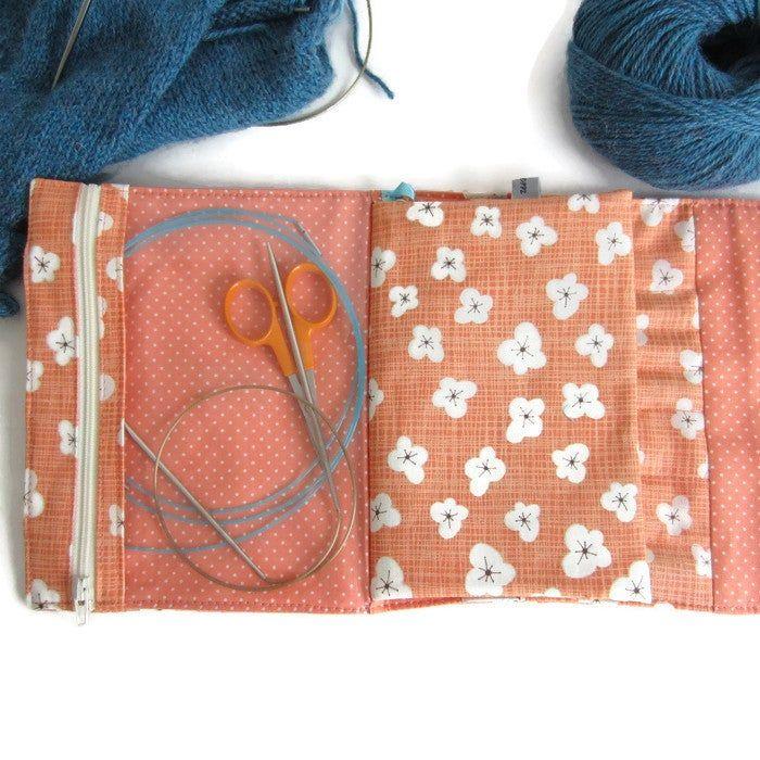 Tutoriel de la Pochette de rangement Penelope pour aiguilles à tricoter en 2020 | Aiguille a ...