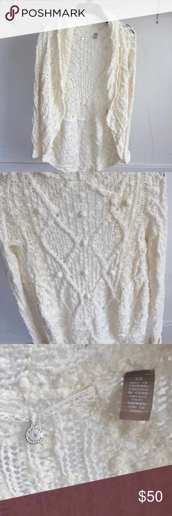 Knitted & Knotted Anthropologie knitted cardigan | Sweater ...
