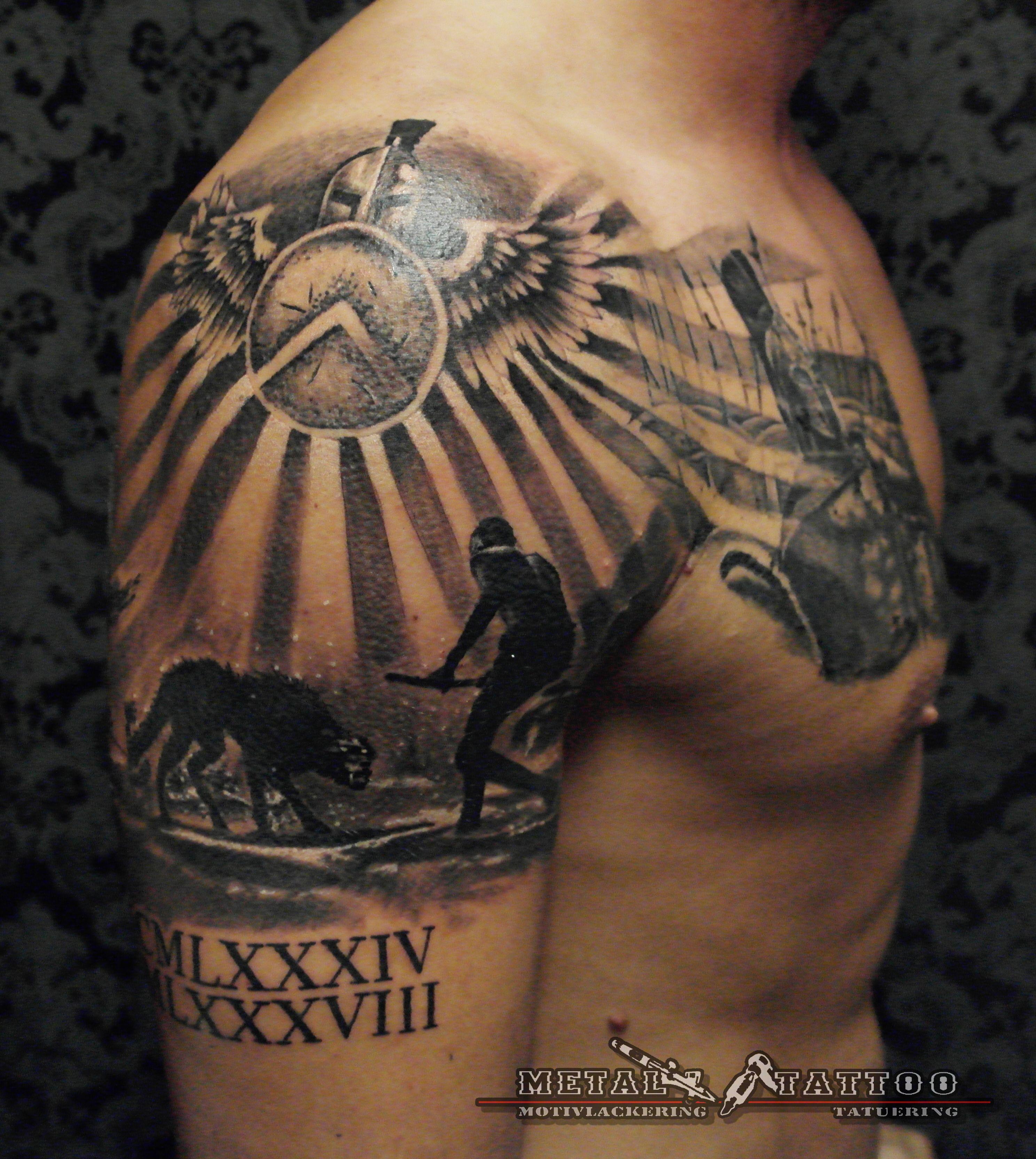 When Did The Spqr Tattoos Originate: Gladiator Tattoo, Spqr Tattoo
