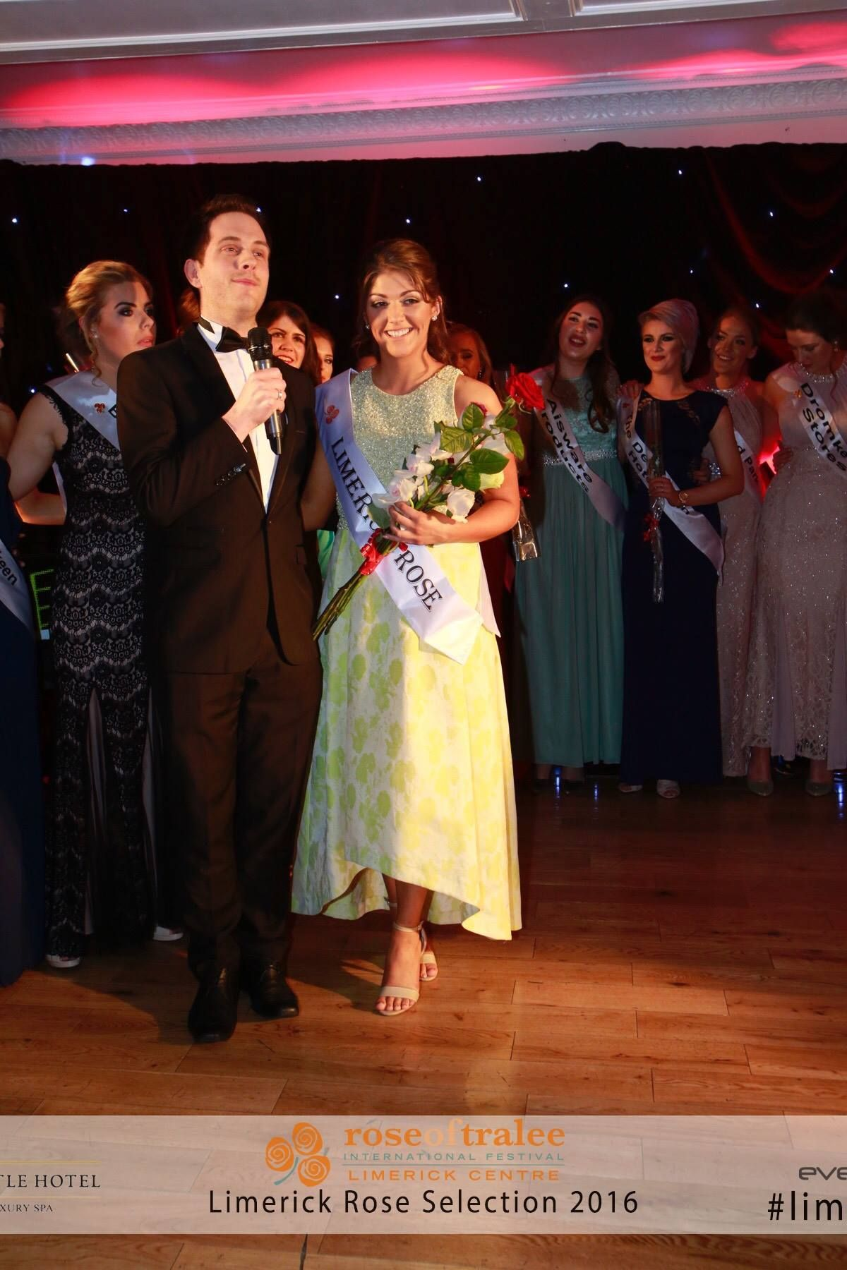Limerick Rose 2016 - Marie Hennessy