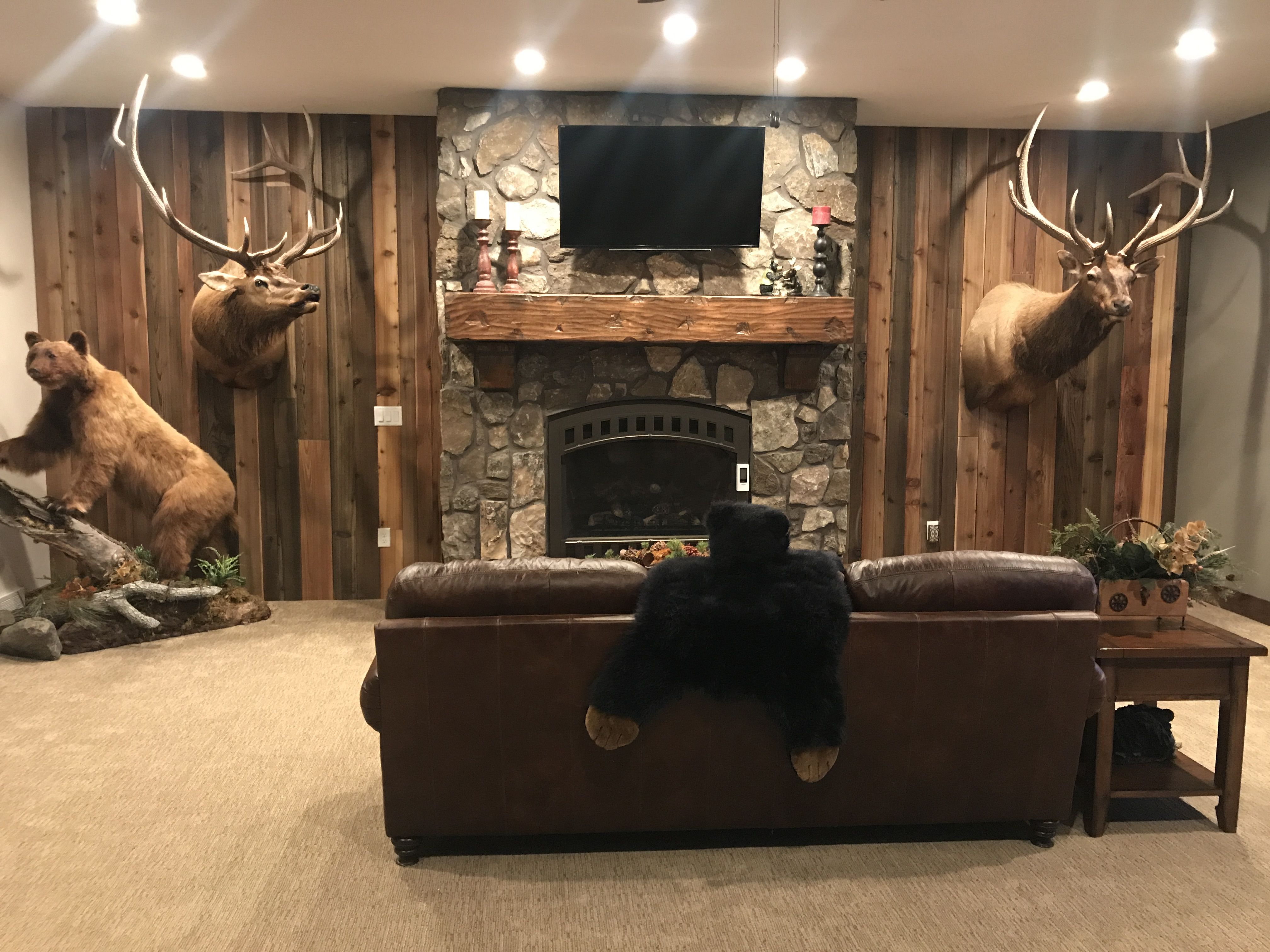 Man Cave Vote : Take a look at this sweet man cave it wouldn t be complete