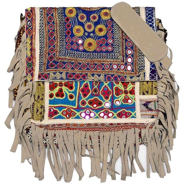 Vintage Addiction Taupe Boho Chic Fringed Messenger Bag ($240) ❤ liked on Polyvore featuring bags, messenger bags, zip top bag, fringe bag, fringe messenger bag, flap messenger bag and zipper bag