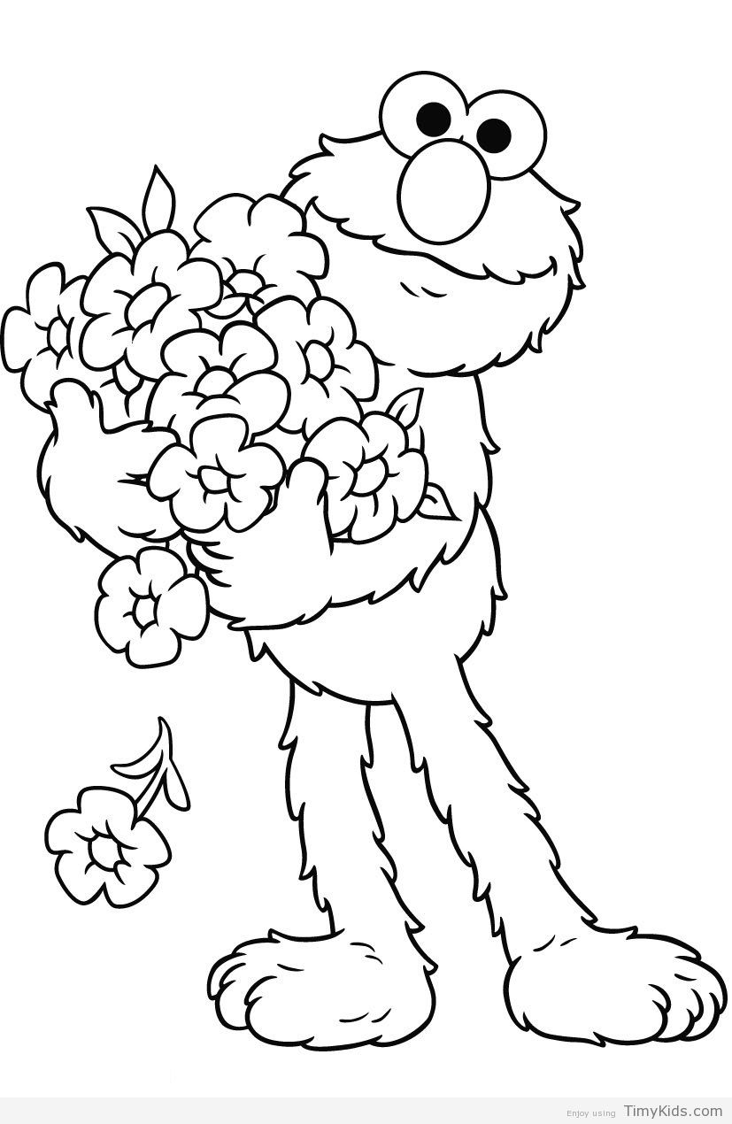 http://timykids.com/elmo-coloring-pages-printable.html | Colorings ...