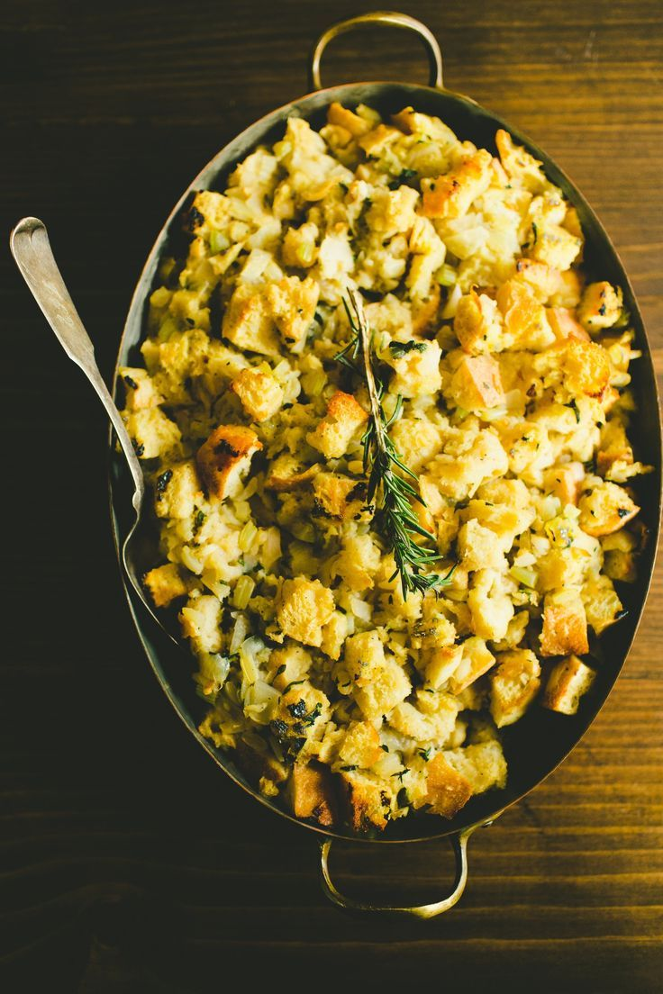 Essential Thanksgiving Recipe: Classic Sage & Onion Bread Dressing (Stuffing) — Recipes from The Kitchn