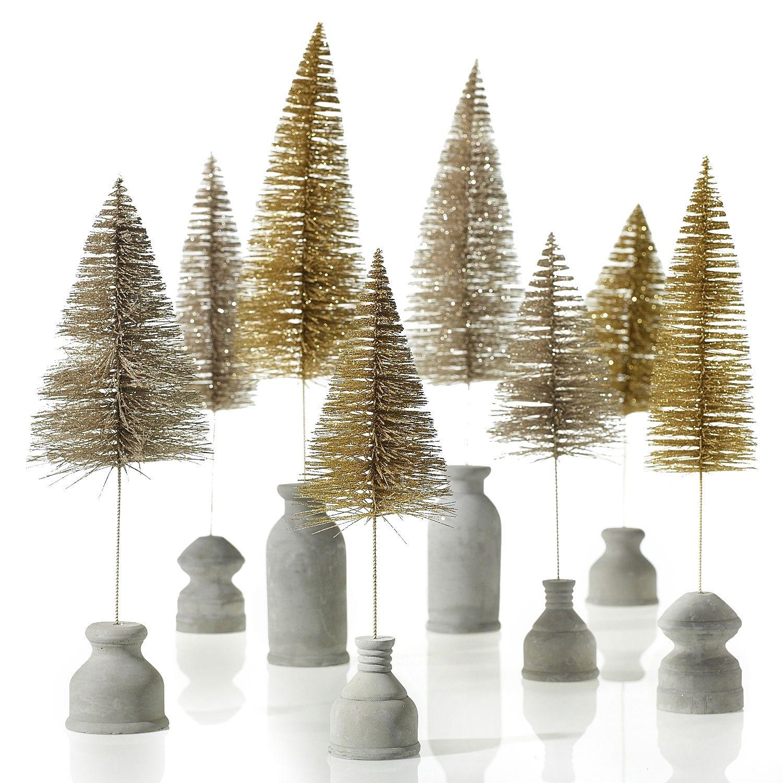 Image Result For Bottle Brush Wreaths Wholesale Bottle Brush Christmas Trees Bottle Brush Trees Glitter Bottle
