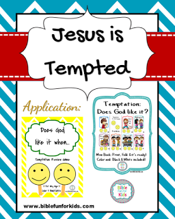Jesus Is Tempted Craft : jesus, tempted, craft, Crafts, Ideas, Bible, Crafts,, Sunday, School, Lessons