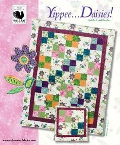 Yippee Daisies Pattern By Cyndi Hershey For South Sea Imports