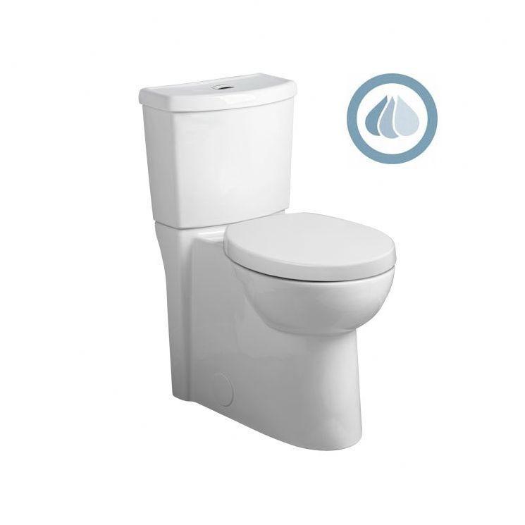 Studio Concealed Trapway Dual Flush Right Height 1 1 Gpf 1 6 Gpf Elongated 2 Piece Toilet Dual Flush Toilet Toilet Tank Toilet