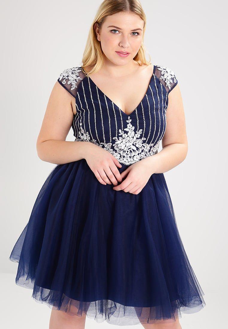 9953dda0cb Chi Chi London Curvy STEFFIE - Sukienka koktajlowa plus size  suskienka   sukienki  moda  fashion  dresses  vestidos  kleider  abendkleider  plus   size ...