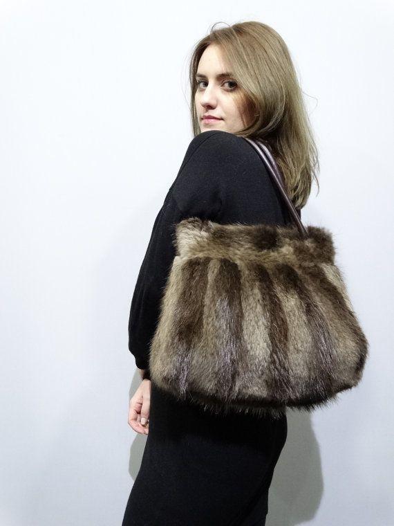 Real Beaver Handbag 3df00ee5394d8