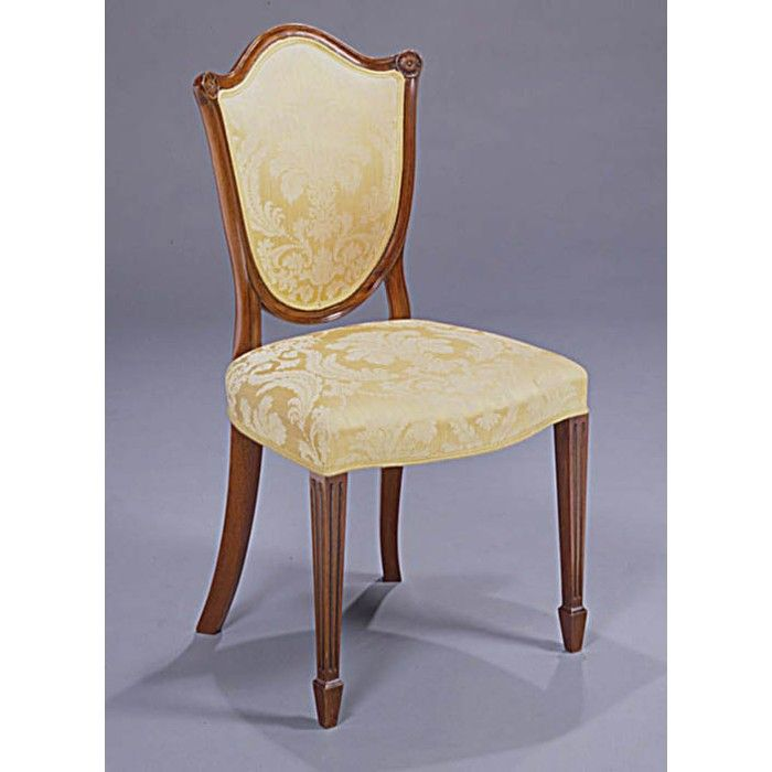 Reed And Rackstraw Hepplewhite Shield Back Side Chair Side