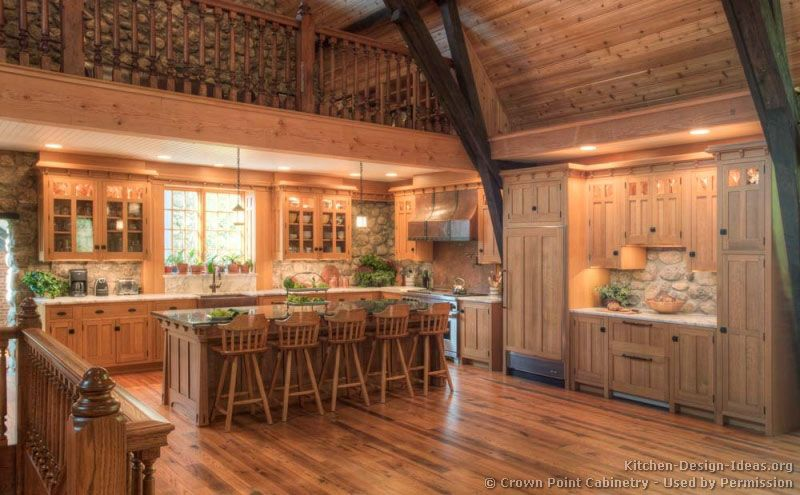 Log Home Kitchens Pictures Design Ideas Log Home Kitchens Home Kitchens Log Home Kitchen