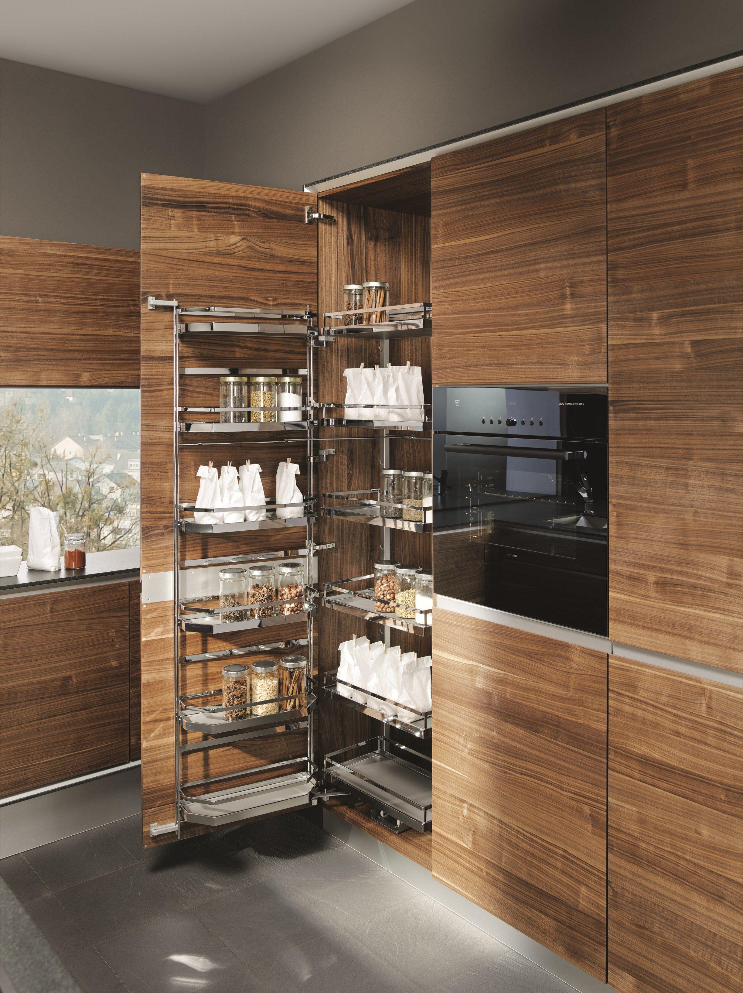 cocina de madera maciza con isla vao by team natrlich wohnen diseo sebastian desch