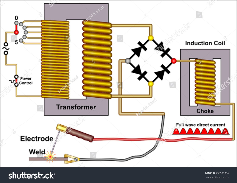 Welding Machine Transformer Wiring Diagram   Spot Welding Transformer Diagram      Welding Machines Best Buy