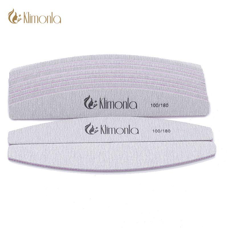 Klimonla 25pcs/lot 100/180 Professional Nail Files Sanding Buffer ...