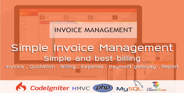 nice Chameleon Invoice Manager - Invoicing Created Simple (PHP ...