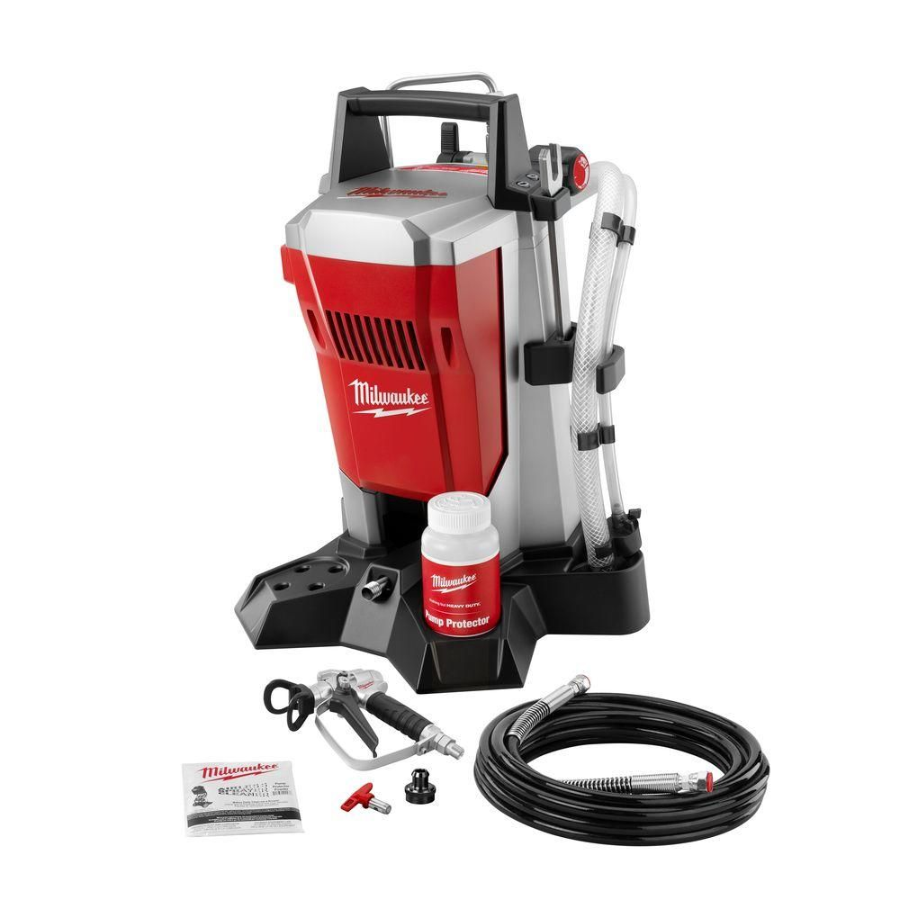 Milwaukee Airless Paint Sprayer M4910 10 At The Home Depot Milwaukee Tools Paint Sprayer Milwaukee Power Tools