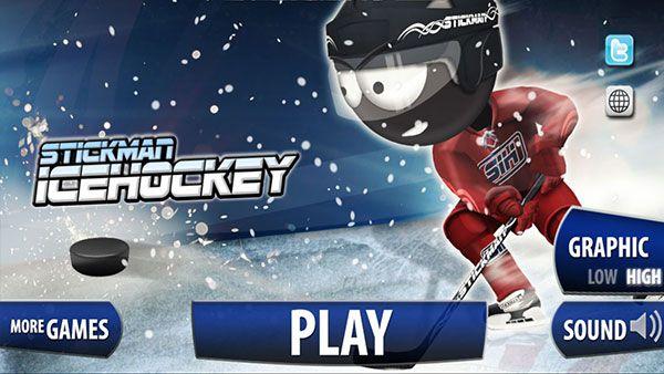 Stickman Ice Hockey | Sports Android Games | Ice hockey