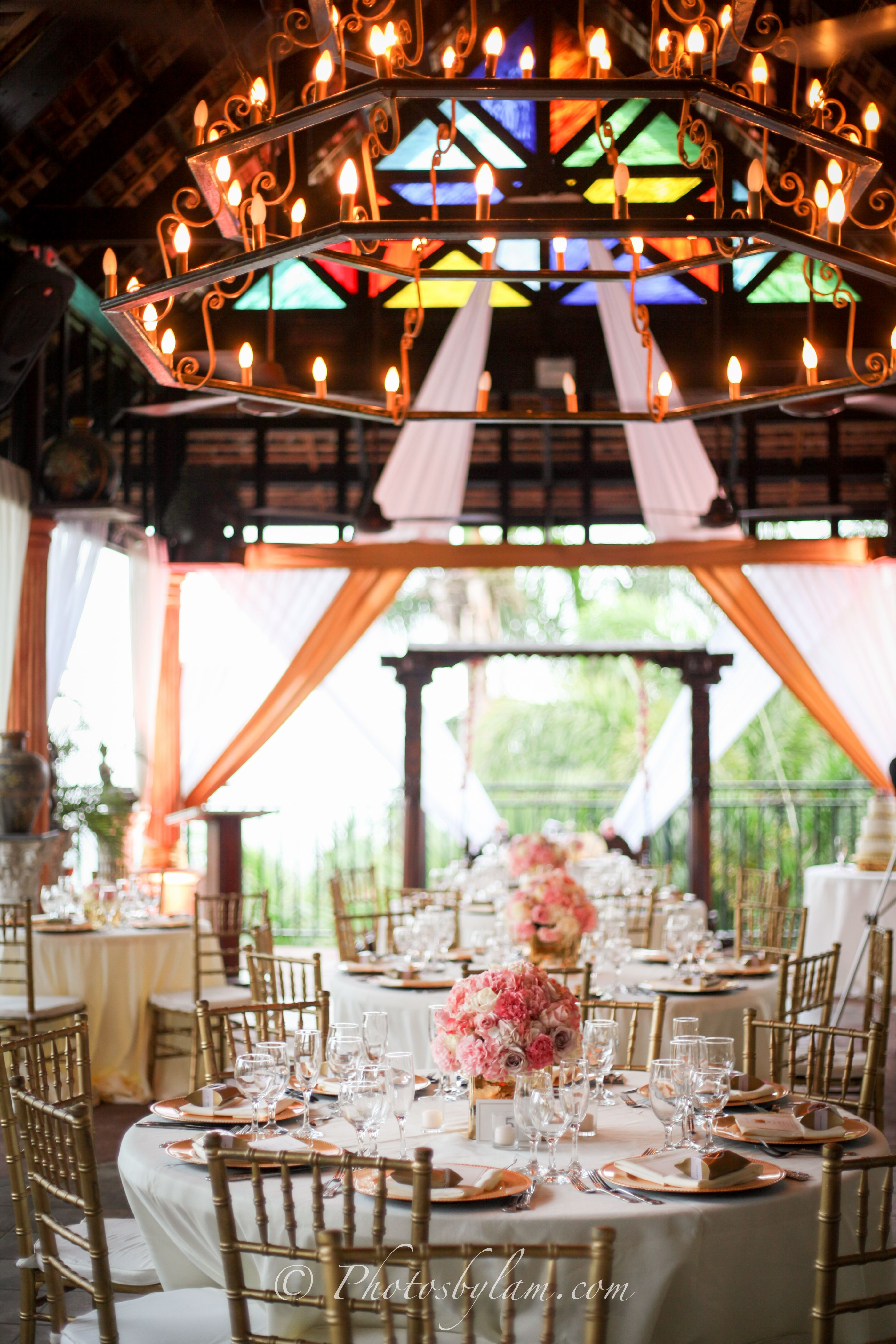 Blush Wedding Reception Decor By Helen G Events For In Kingston Jamaica