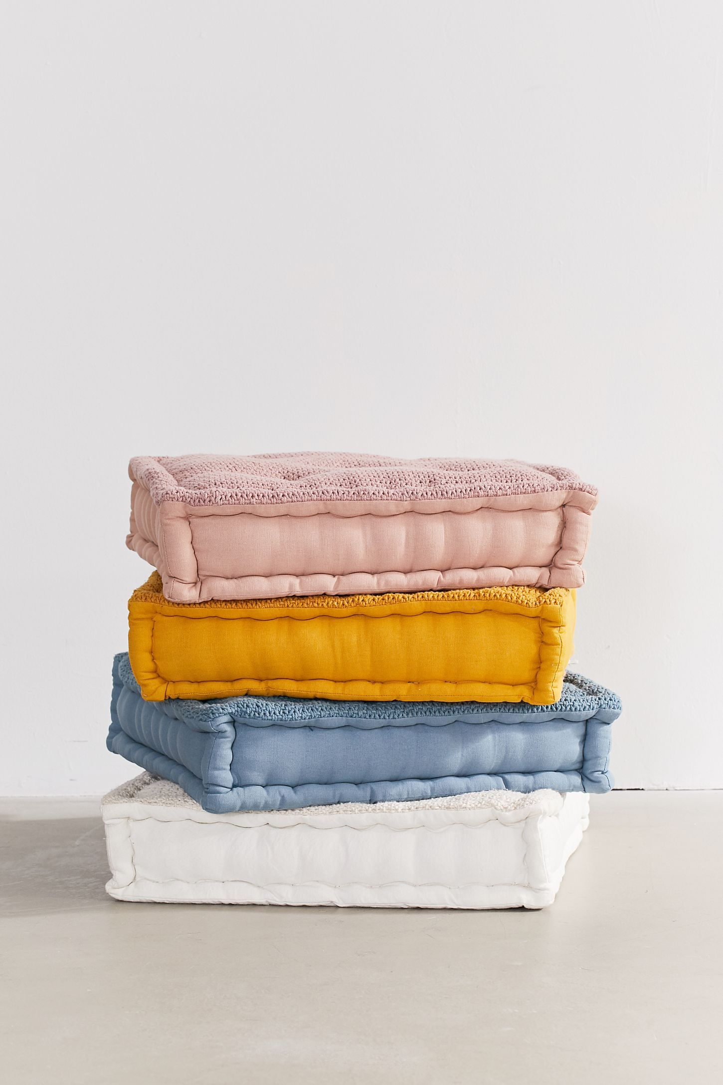 Knit Floor Pillow Floor pillows, Pillows, Sitting cushion