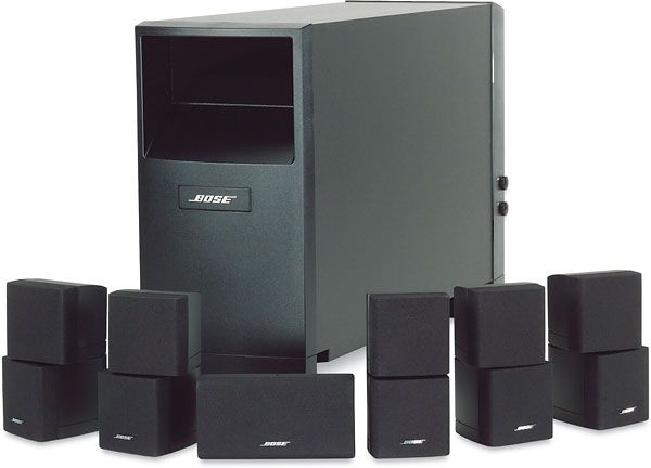 bose 5 1 home entertainment systems bose acoustimass 10. Black Bedroom Furniture Sets. Home Design Ideas