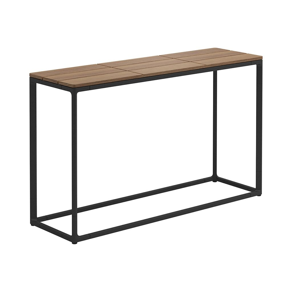 Gloster Maya 40 X 12 Low Console Table Authenteak Low Console Table Gloster Furniture Console Table