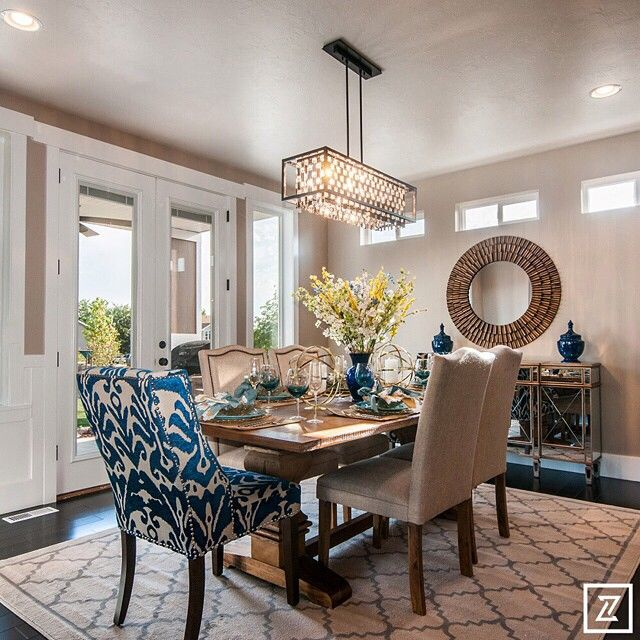 25 Elegant And Exquisite Gray Dining Room Ideas: Perfect Color Combination For Dining Room With Mix Of Wood