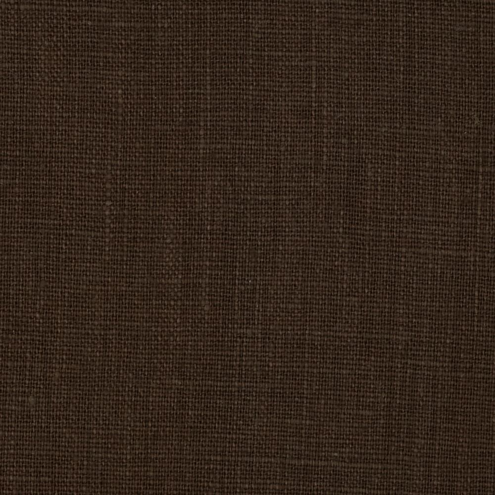 European 100 Washed Linen Bayou Brown Upholstery Fabric Washed Linen Furniture Covers Slipcovers