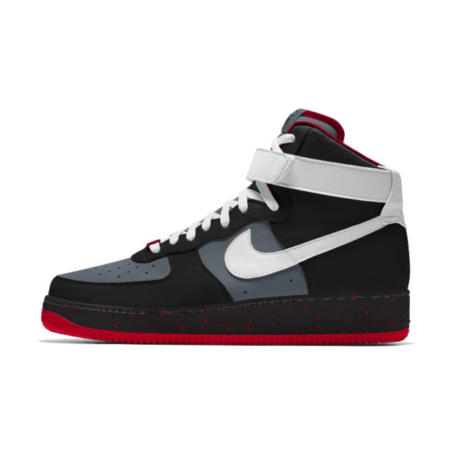 Nike Air Force 1 High iD Women's Shoe Accessories Pinterest