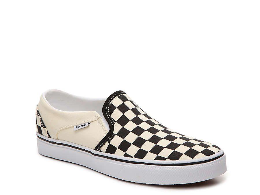 Vans Asher Slip-On Sneaker - Women's in