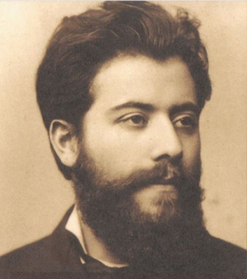 """Mahler. """"A symphony must be like the beard. It must contain ..."""