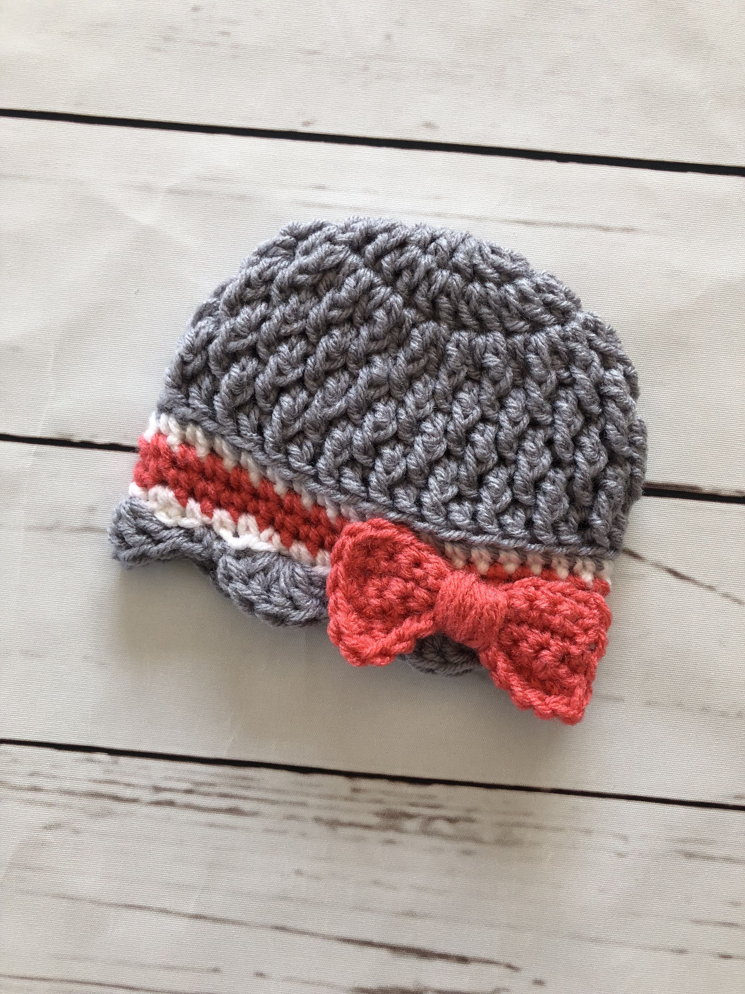 b8ab93ad7 Cutest Coming Home Hat - Newborn Photo Prop - Baby Girl Crochet Hat ...