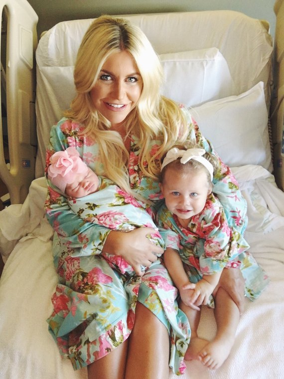 5c5faee8ecc0c Mommy and me, to be moms robe, delivery robe, labor and birth, pregnancy  robe set, floral delivery,