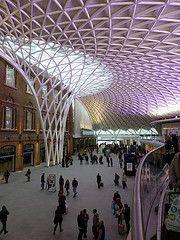 King's Cross Station London UK