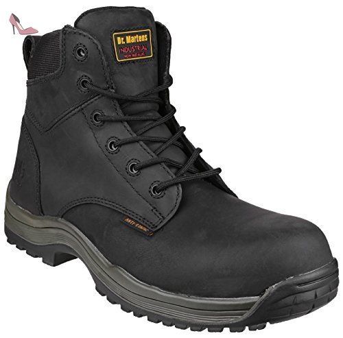 Dr Martens 1417 Falcon Mens sécurité travail Boot Blk - 12 - Chaussures dr  martens (