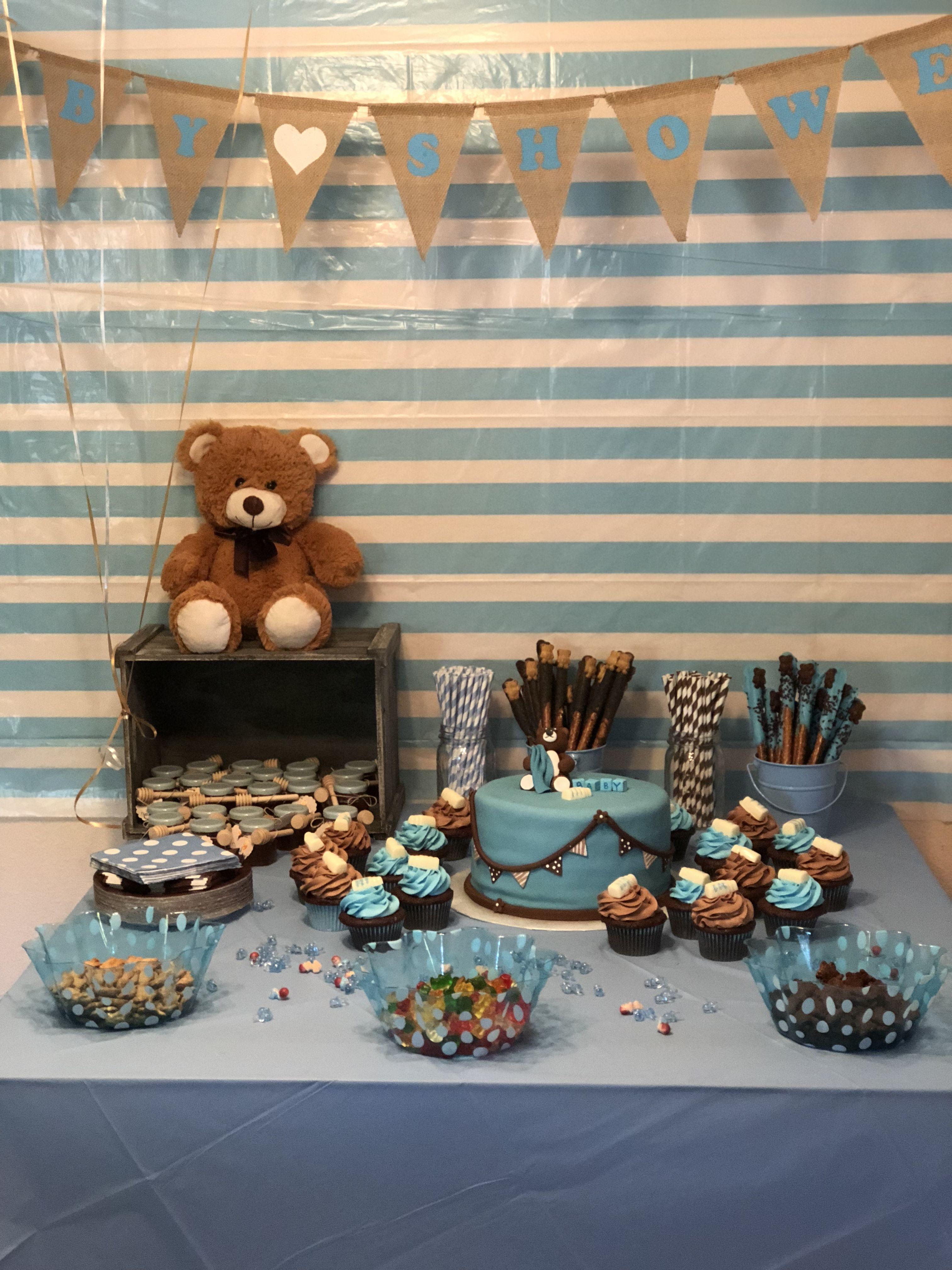 Teddy Bear Theme Baby Shower Baby Shower Mateo In 2018 Pinterest