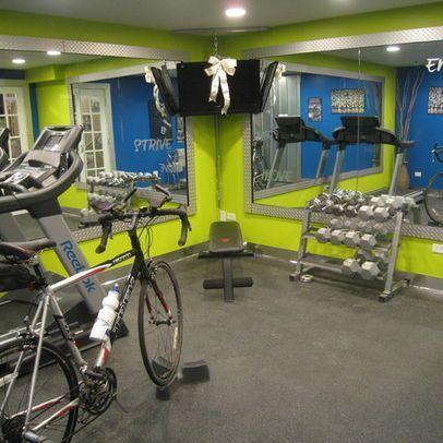 fitness room decor  exercise room in basement design