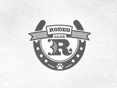 Rodeo Club Logoishness Logos Cool Logo Dog Training Classes